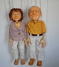 Портретные марионетки и куклы