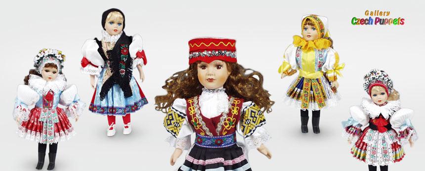 Куклы в национальной одежде