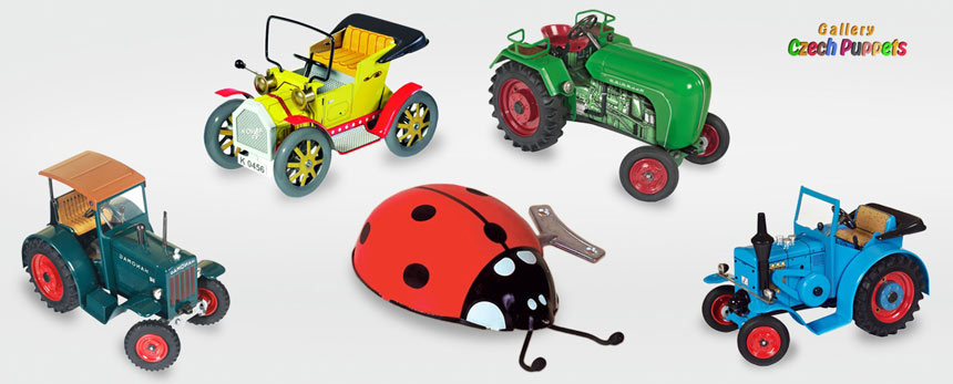 Механические игрушки