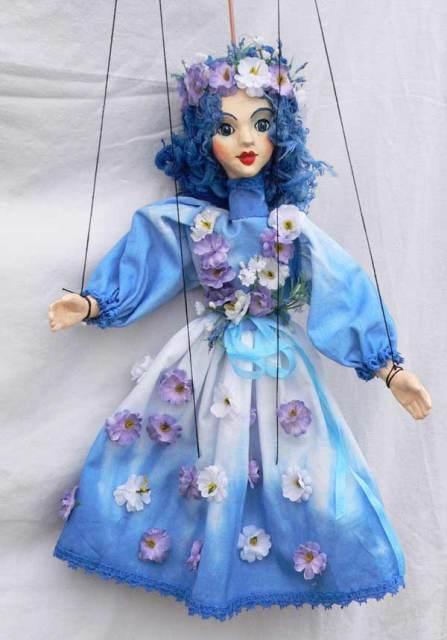 Фея, Декоративная чешская кукла марионетка
