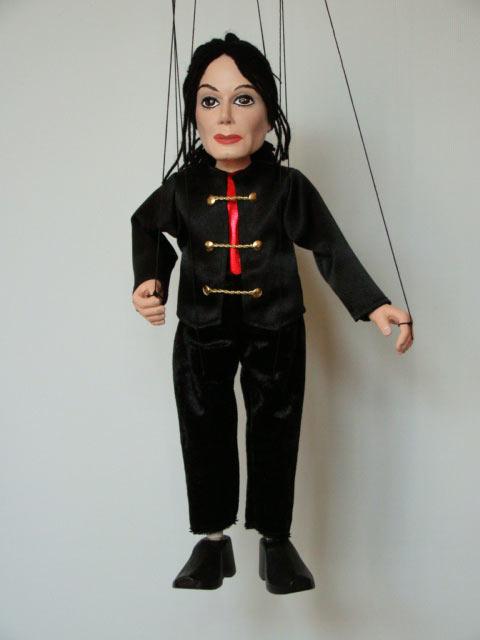 Майкл Джаксон ,  оригинальная марионетка