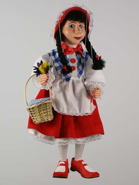 Красная Шапочка Бикса декоративная марионетка