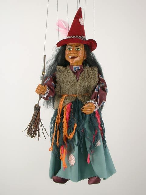 Баба Яга Адель декоративная марионетка
