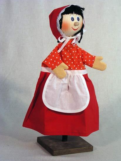 Красная шапочка перчаточная кукла