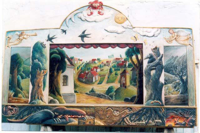 Деревянный театр кукол Весна