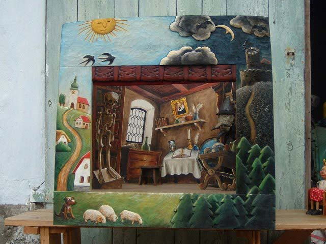 Деревянный театр кукол Классик