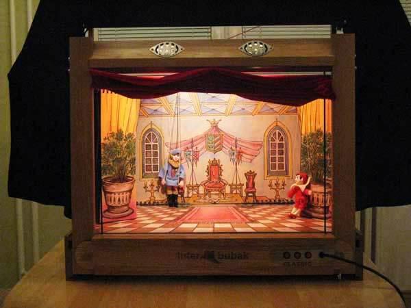 Деревянный театр кукол Модерн