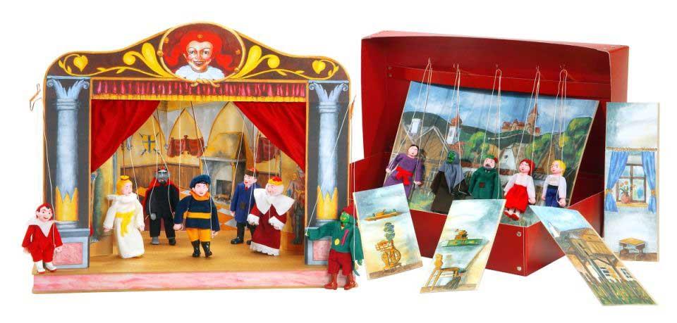 Tеатр кукол картонный Макси