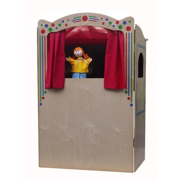 Деревянный театр кукол Дуо