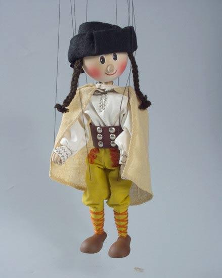Робин Гуд деревянная марионетка