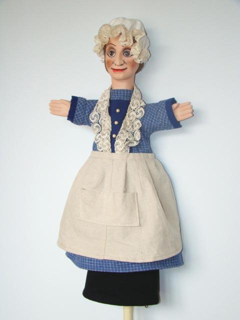 Мэре-Мишель перчаточная кукла