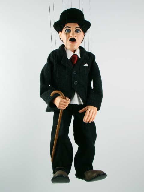 Чарли Чаплин ,  оригинальная марионетка
