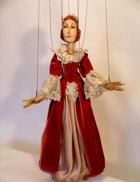 Дама Ариадна марионетка
