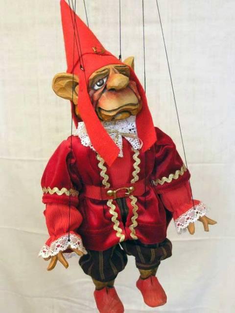 Гном венецианский Оуэн марионетка
