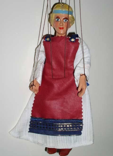 Жена викинга марионетка