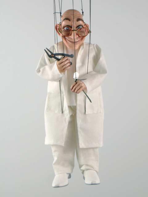 Зубной врач оригинальная марионетка