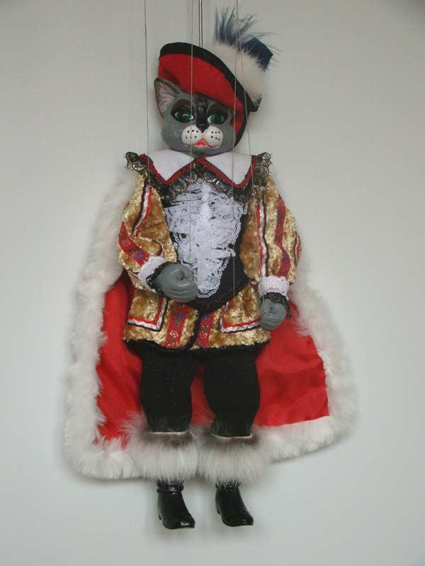Кот в сапогах Бегемот декоративная марионетка