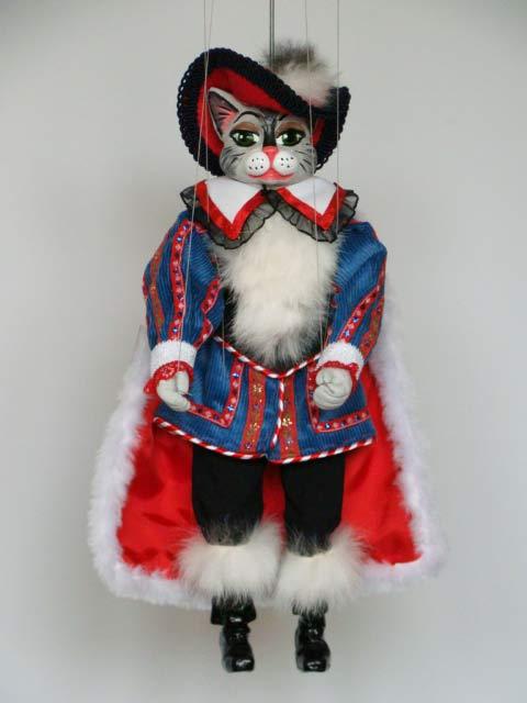 Кот в сапогах Бергамот декоративная марионетка