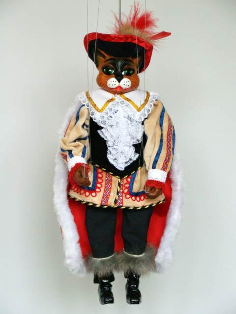 Кот в сапогах Барсик декоративная марионетка