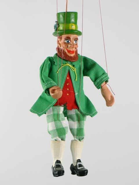 Ирландский гном Лепрекон марионетка