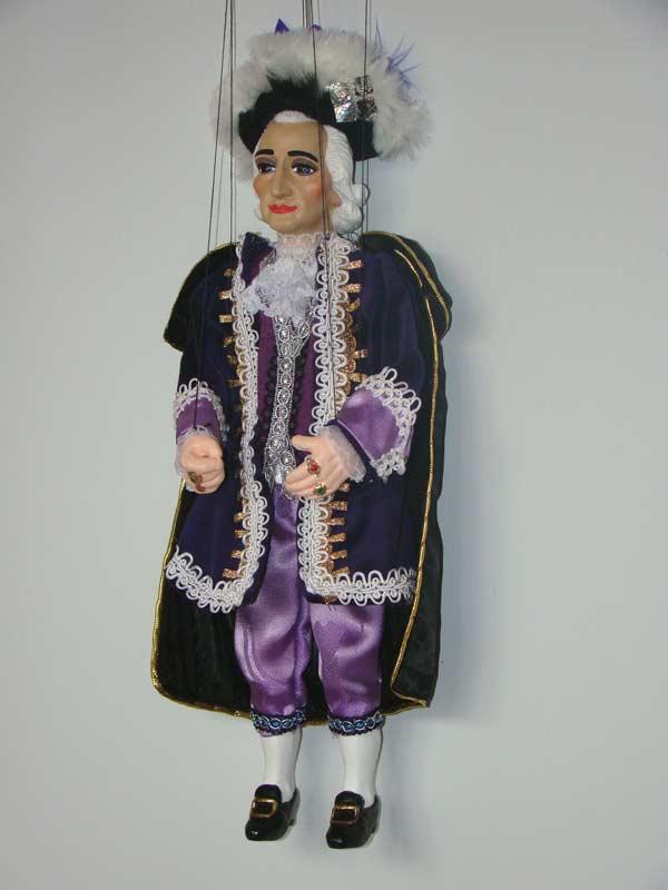 Моцарт музыкант декоративная марионетка