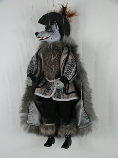 Волк депутат декоративная марионетка