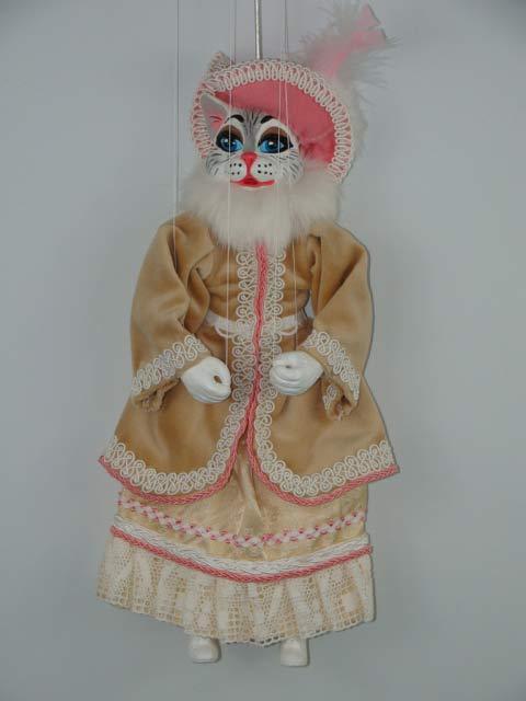 Кошка Ваниль декоративная марионетка