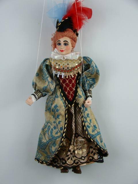 Дама Даффи декоративная марионетка