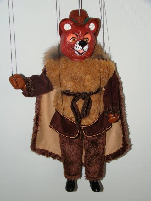 Медведь Потапыч декоративная марионетка