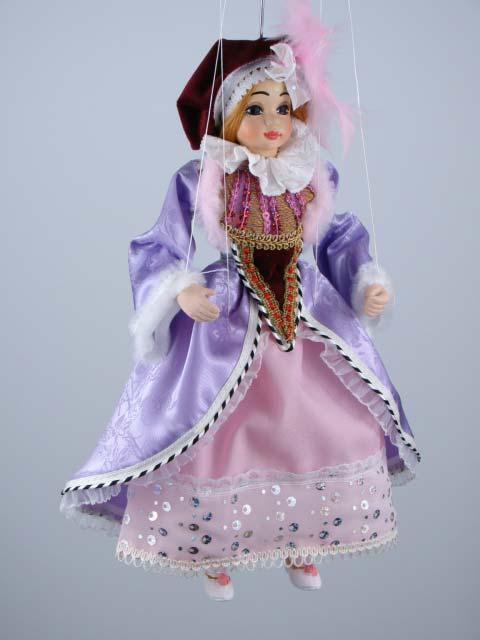 Принцесса Глафира декоративная марионетка
