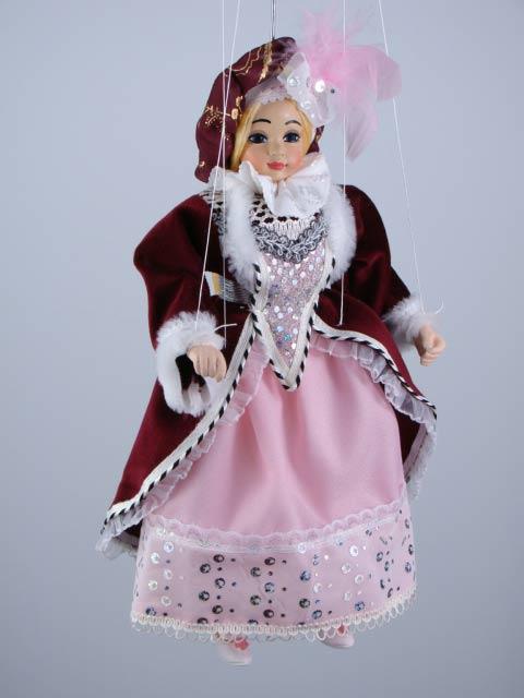Принцесса,  декоративная марионетка