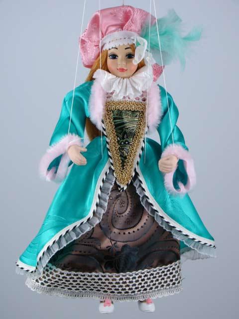 Принцесса Катрин декоративная марионетка