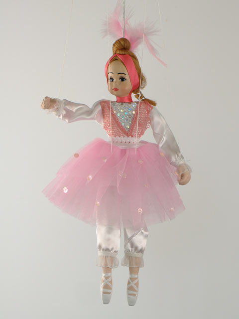Балерина,  декоративная марионетка