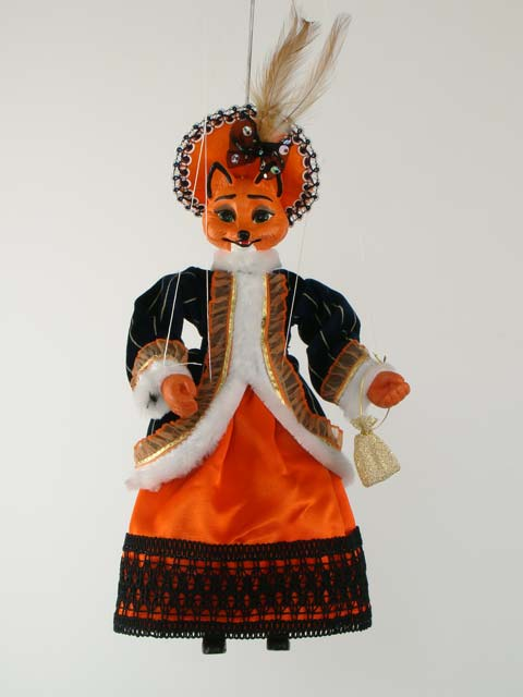 Лиса Алиса декоративная марионетка