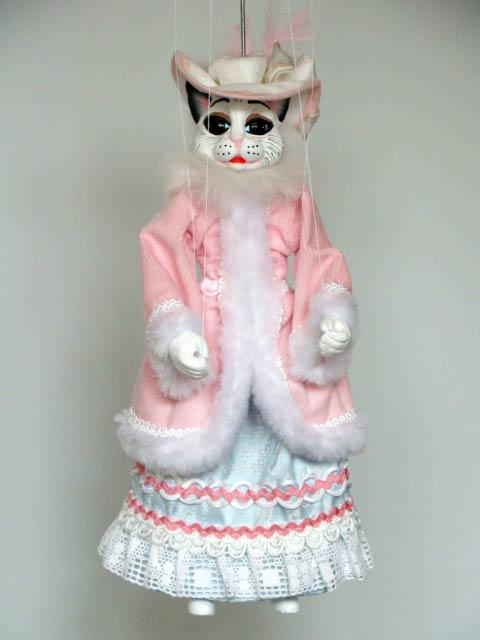 Кошка Вильма декоративная марионетка