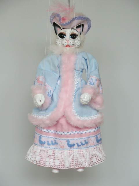 Кошка Викки декоративная марионетка