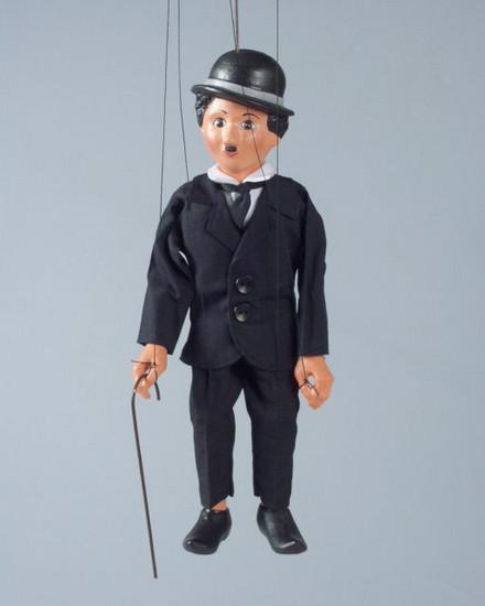 Чаплин декоративная марионетка