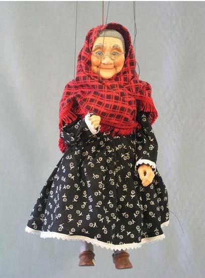 Бабка Анфиса марионетка