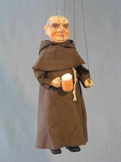 Монах Фабиан марионетка