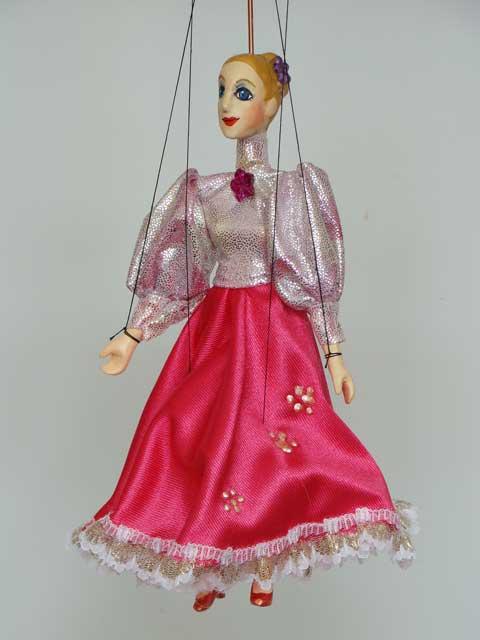 Дама Джина декоративная марионетка