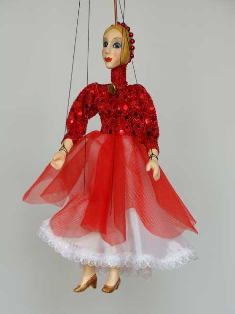 Дама Долли декоративная марионетка