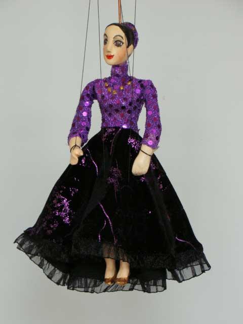 Дама Джуди декоративная марионетка