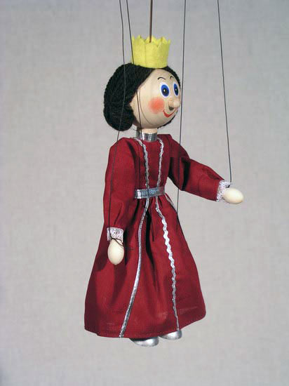 Королева Альма деревянная марионетка