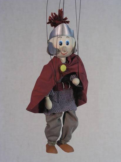 Легионер римский деревянная марионетка