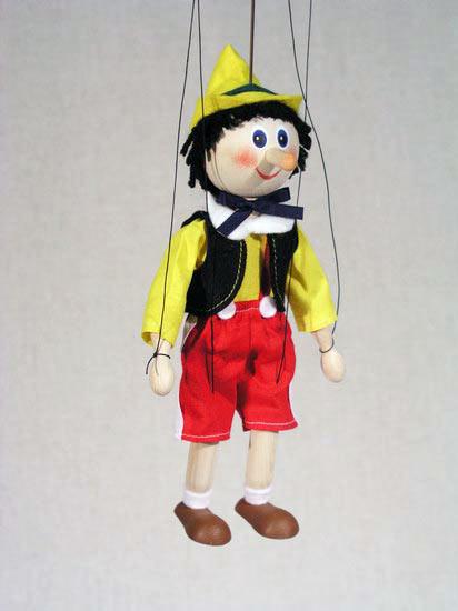 Буратино , деревянная марионетка
