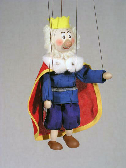 Король Луи деревянная марионетка