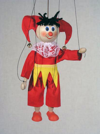 Петрушка Матти деревянная марионетка