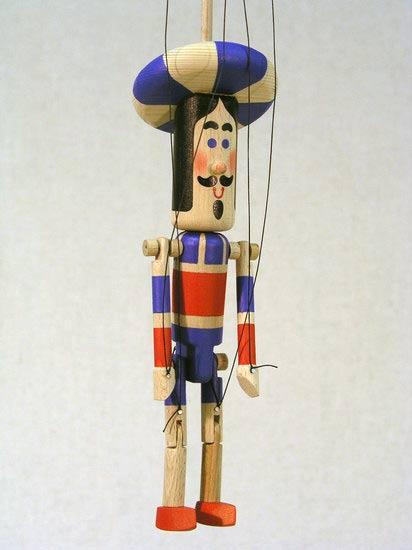 Принц Гордей деревянная марионетка