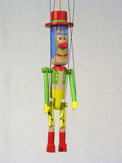 Водяной Бонифатий деревянная марионетка