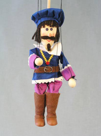 Принц Дормидон деревянная марионетка